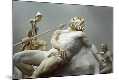Detail of the Blinding of Polyphemus, Roman Copy after an Hellenistic Statuary Group--Mounted Giclee Print
