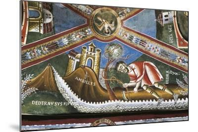 Life of St. Nicholas of Bari, Detail from Cycle of Frescoes, St. Eldrado Chapel--Mounted Giclee Print