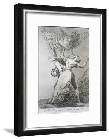 Can't Anyone Untie Us?, Plate 75 of 'Los Caprichos', 1799--Framed Giclee Print