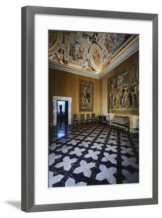 Ceiling Detail, Hall of David, Lateran Palace, Rome, Vatican City, Italy, 16th Century--Framed Giclee Print