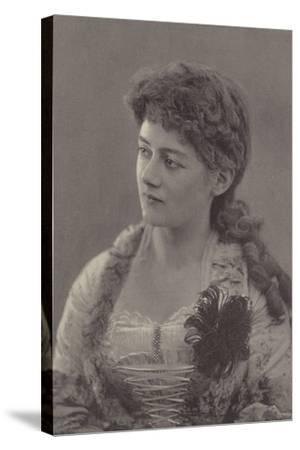 Miss Ethel Selwyn--Stretched Canvas Print