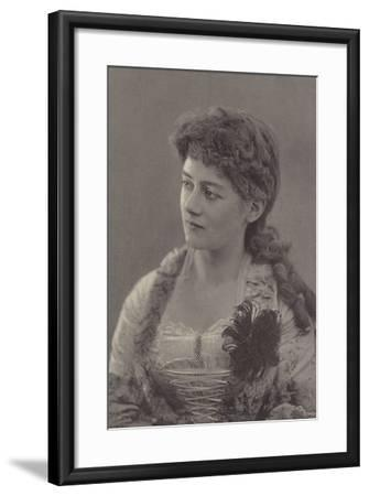 Miss Ethel Selwyn--Framed Photographic Print
