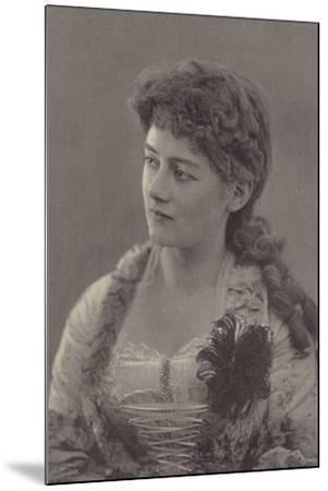 Miss Ethel Selwyn--Mounted Photographic Print