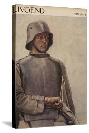 German Soldier, World War I--Stretched Canvas Print