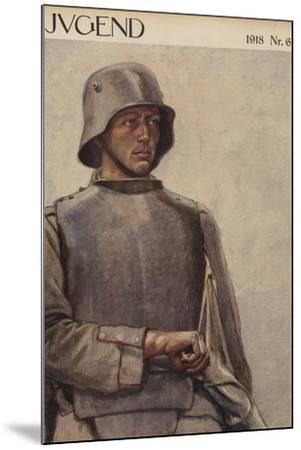 German Soldier, World War I--Mounted Giclee Print