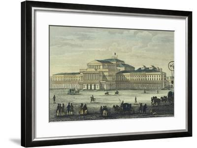 Warsaw National Theatre, Poland 19th Century--Framed Giclee Print