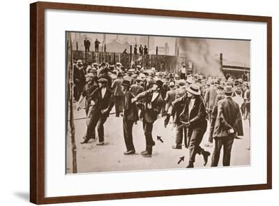 The Standard Oil Strike, Bayonne, New Jersey, 1915--Framed Photographic Print