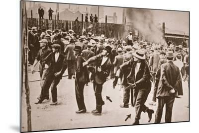The Standard Oil Strike, Bayonne, New Jersey, 1915--Mounted Photographic Print