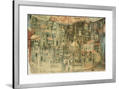 Our Lady of Mercy Church in Florence, 1352, Italy, Detail--Framed Giclee Print