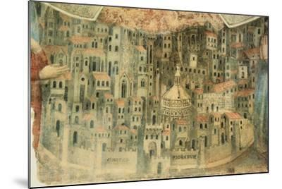 Our Lady of Mercy Church in Florence, 1352, Italy, Detail--Mounted Giclee Print