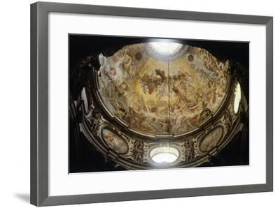 Interior of Dome of Lecce Cathedral, Apulia, Italy--Framed Giclee Print