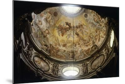 Interior of Dome of Lecce Cathedral, Apulia, Italy--Mounted Giclee Print