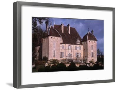 France, Rhône-Alpes, Filain Castle--Framed Giclee Print