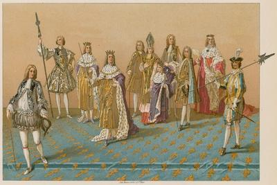 The Great Officers of State at a Coronation--Framed Giclee Print