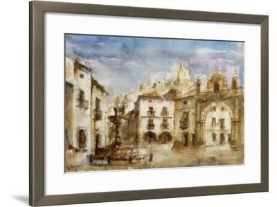 Set Design for 'The Barber of Seville'--Framed Giclee Print