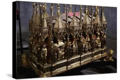 Ark with Ashes of John the Baptist by Teramo Danieli and Simone Caldera--Stretched Canvas Print