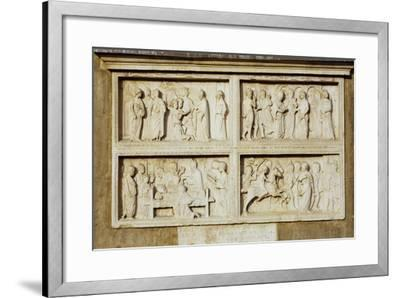 Stories from the Life of St Geminiano--Framed Giclee Print