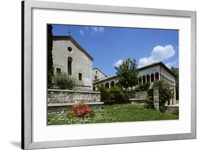 Italy, Veneto, Province of Treviso, Follina, Cistercian Abbey of Santa Maria--Framed Giclee Print