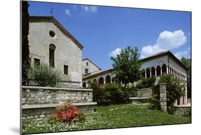 Italy, Veneto, Province of Treviso, Follina, Cistercian Abbey of Santa Maria--Mounted Giclee Print