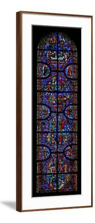 Window W11 Depicting St Andrew's Martyrdom--Framed Giclee Print