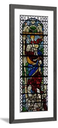 Window W36 Depicting St Christopher--Framed Giclee Print
