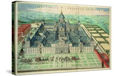 Scenographia Fabricae, the Escorial Monastery in Spain, 1662--Stretched Canvas Print