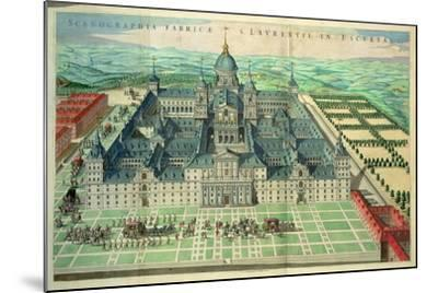 Scenographia Fabricae, the Escorial Monastery in Spain, 1662--Mounted Giclee Print