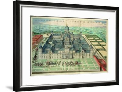 Scenographia Fabricae, the Escorial Monastery in Spain, 1662--Framed Giclee Print
