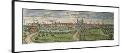 Germany, Halle, View of Halle an Der Saale City--Framed Giclee Print