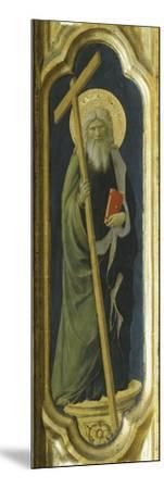 Lateral Pillar with Figure of Saint--Mounted Giclee Print