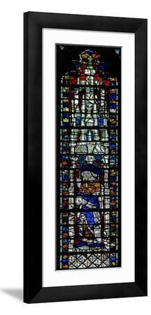 Window C2 Depicting a Prophet with Scroll--Framed Giclee Print
