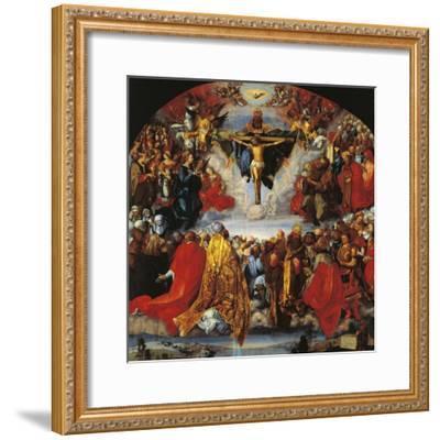 Austria, Vienna, the Trinity--Framed Giclee Print