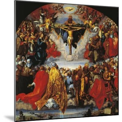 Austria, Vienna, the Trinity--Mounted Giclee Print