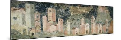 Ambulatory of Cosmatesque Cloister in Monastery of St Scholastica, Subiaco. Italy, 13th Century--Mounted Giclee Print