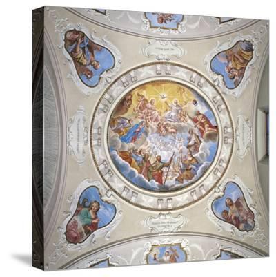 Frescoes by Giuseppe Mattia Borgnis--Stretched Canvas Print