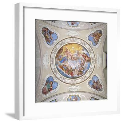 Frescoes by Giuseppe Mattia Borgnis--Framed Giclee Print