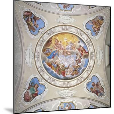 Frescoes by Giuseppe Mattia Borgnis--Mounted Giclee Print