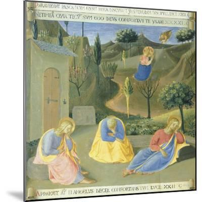 Inset Depicting Praying in Garden, Panel from the Armadio Degli Argenti--Mounted Giclee Print