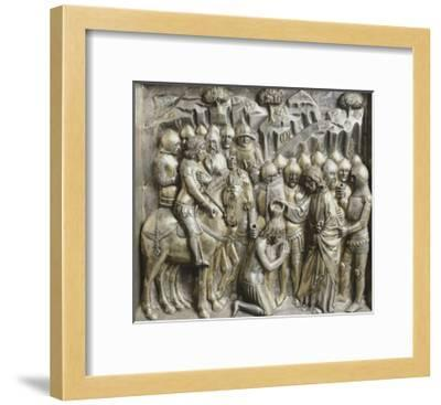 St James Baptizing His Converted Accuser--Framed Giclee Print