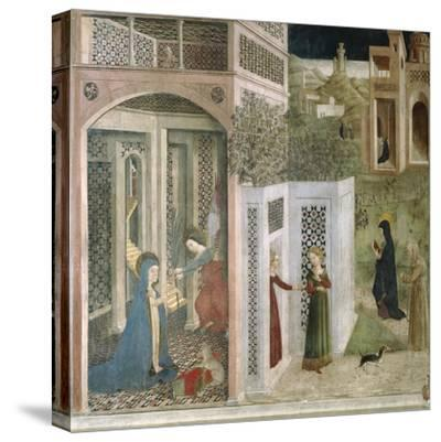 Annunciation--Stretched Canvas Print