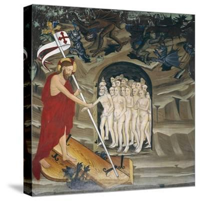 Christ in Limbo Resurrecting the Elect, Life of Christ--Stretched Canvas Print