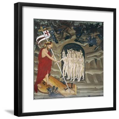 Christ in Limbo Resurrecting the Elect, Life of Christ--Framed Giclee Print