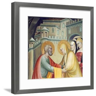 Meeting with Saint Anne--Framed Giclee Print