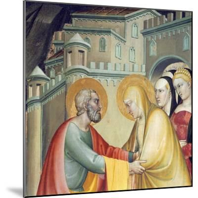 Meeting with Saint Anne--Mounted Giclee Print