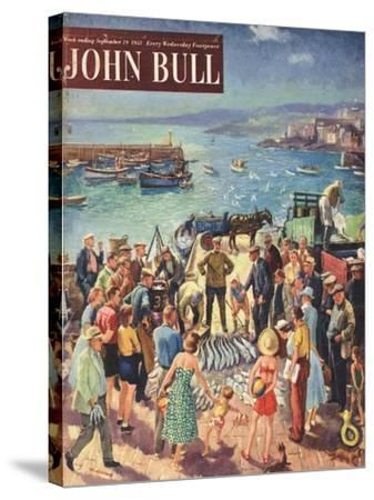 Front Cover of 'John Bull', September 1953--Stretched Canvas Print