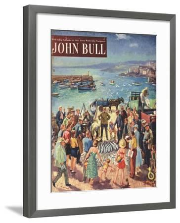 Front Cover of 'John Bull', September 1953--Framed Giclee Print