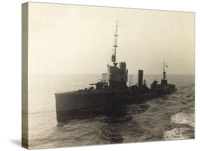 Foto Deutsches Torpedoboot V 130 Auf Hoher See--Stretched Canvas Print
