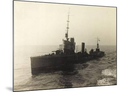 Foto Deutsches Torpedoboot V 130 Auf Hoher See--Mounted Giclee Print