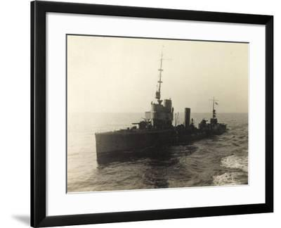 Foto Deutsches Torpedoboot V 130 Auf Hoher See--Framed Giclee Print