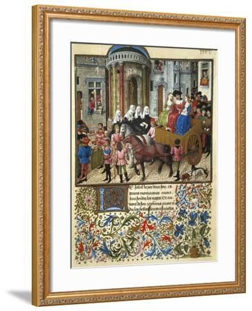Italy, Theseus in Athens--Framed Giclee Print